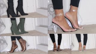HUGE BOOHOO & SIMMISHOES SHOE HAUL !!! | NOW 50% & 70% OFF !!