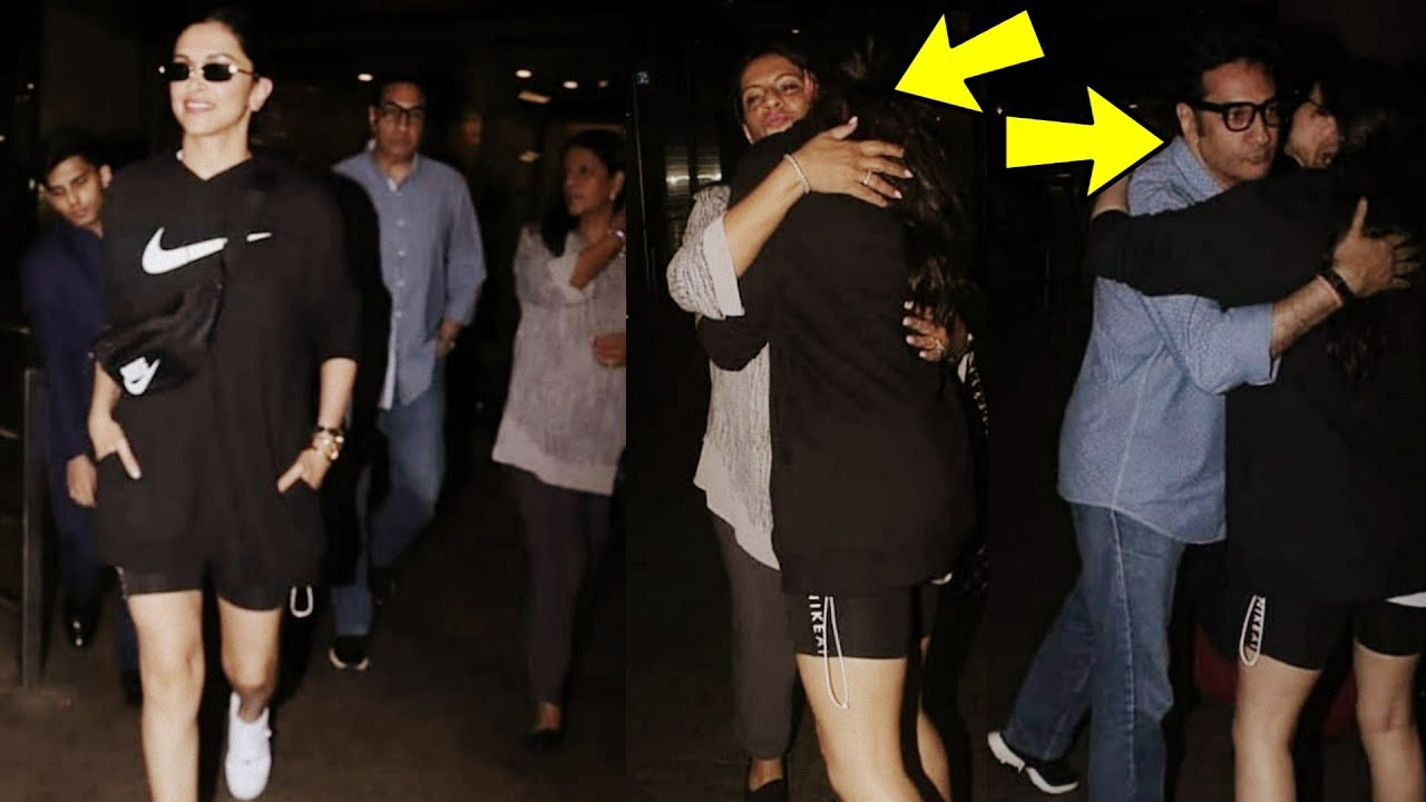Deepika Padukone First Time seen Bonding with her Mother ...