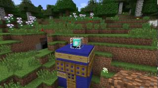 How to build a bigger-on-the-inside TARDIS in Minecraft--NO MODS, NO REDSTONE!