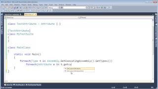 C# Attributes and Reflection