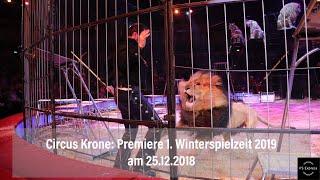 Circus Krone 2019: Premiere 1. Winterspielzeit München 25.12.2018