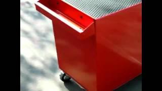 Инструментальная тележка Hans 9915HQ(Подкатная инструментальная тележка Hans (Тайвань) для гаража и автосервиса: 1. Центральный замок на выдвижные..., 2012-10-11T07:08:19.000Z)