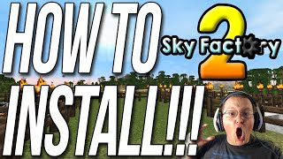 How To Download & Play Sky Factory 2!! (Install The ATLauncher)