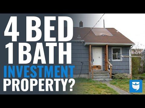 4 Bed & 1 Bath Investment Property Walk-Through