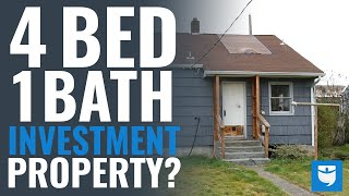 4 Bed & 1 Bath Investment Property Walk-Through