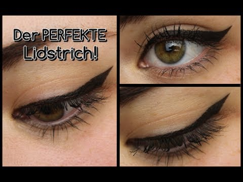 der perfekte eyeliner f r anf nger youtube. Black Bedroom Furniture Sets. Home Design Ideas