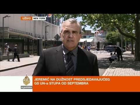 Ivica Puljić o izboru Jeremića u UN-u - Al Jazeera Balkans