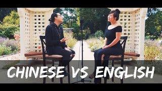 Chinese Songs VS English Songs: A Pop Music Mashup (Asian American Heritage Tribute) @RosendaleSings