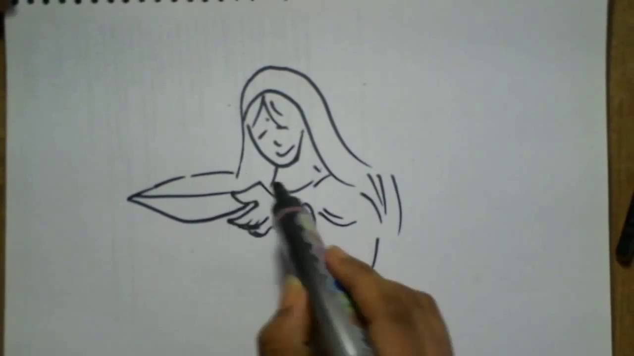 How to draw deepavali festival drawing how to draw diwali festival scene 5