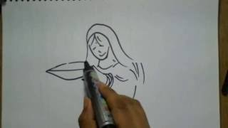 How to draw Deepavali festival Drawing | how to draw diwali festival scene #5