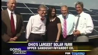 Largest Ohio solar farm operational