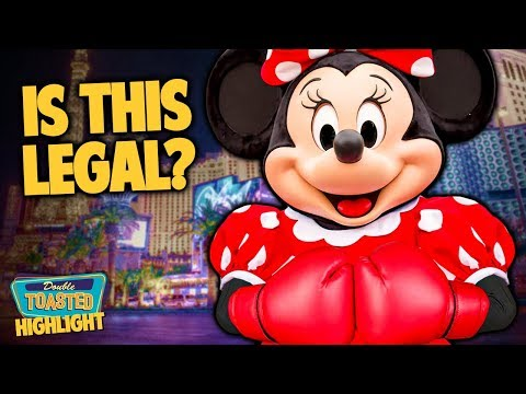 MINNIE MOUSE MELEE WITH SECURITY GUARD MAKES THE NEWS | Double Toasted