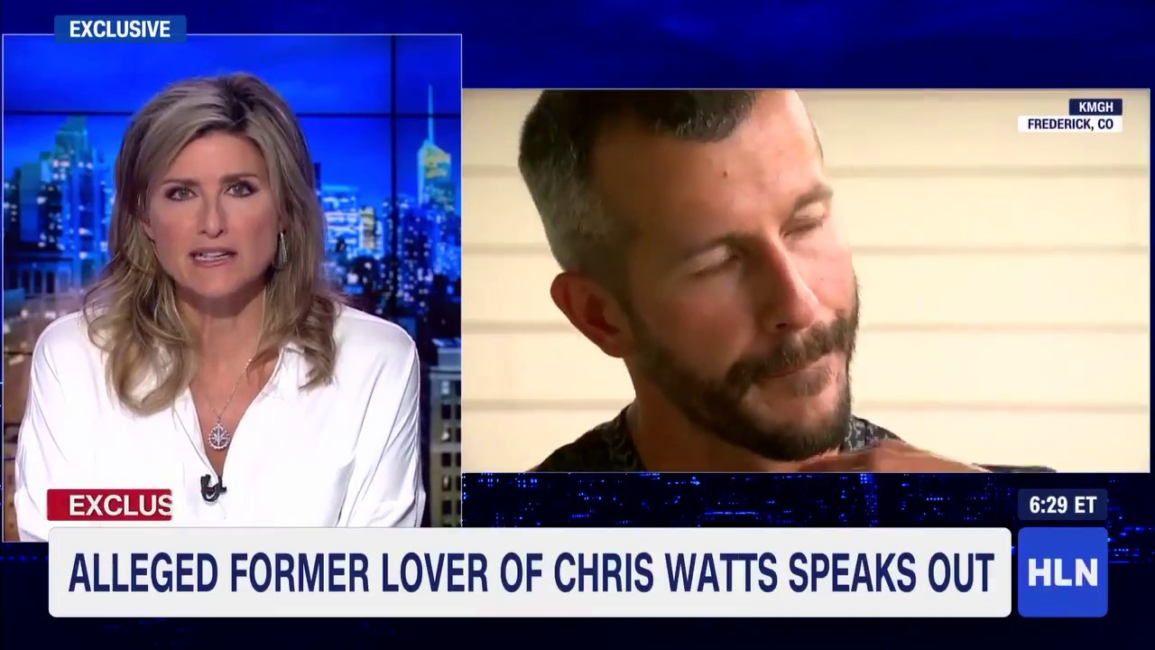 breaking news chris watts alleged ex lover speaks he s not the