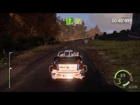 WRC 6 - Dayinsure Wales Rally GB | Chirk Castle | Gameplay (PC HD) [1080p60FPS]