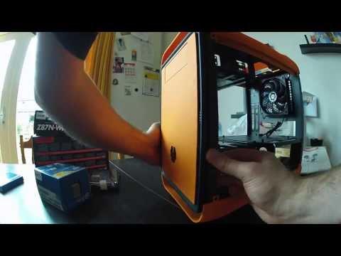 Nieuwe pc: Bitfenix Prodigy orange, Gigabyte GA-Z87N-WIFI, Intel Core i5 4670K