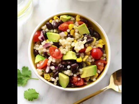 Chilled Black Bean Couscous Salad