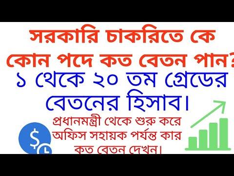 Govt job salary  bd   Govt job salary scale   8th pay scale   সরকারি চাকরির বেতন স্কেল  Job salary