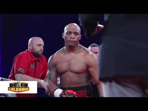 Oscar Rivas ganó por KO en el 2ndo round a Sergio Ramírez