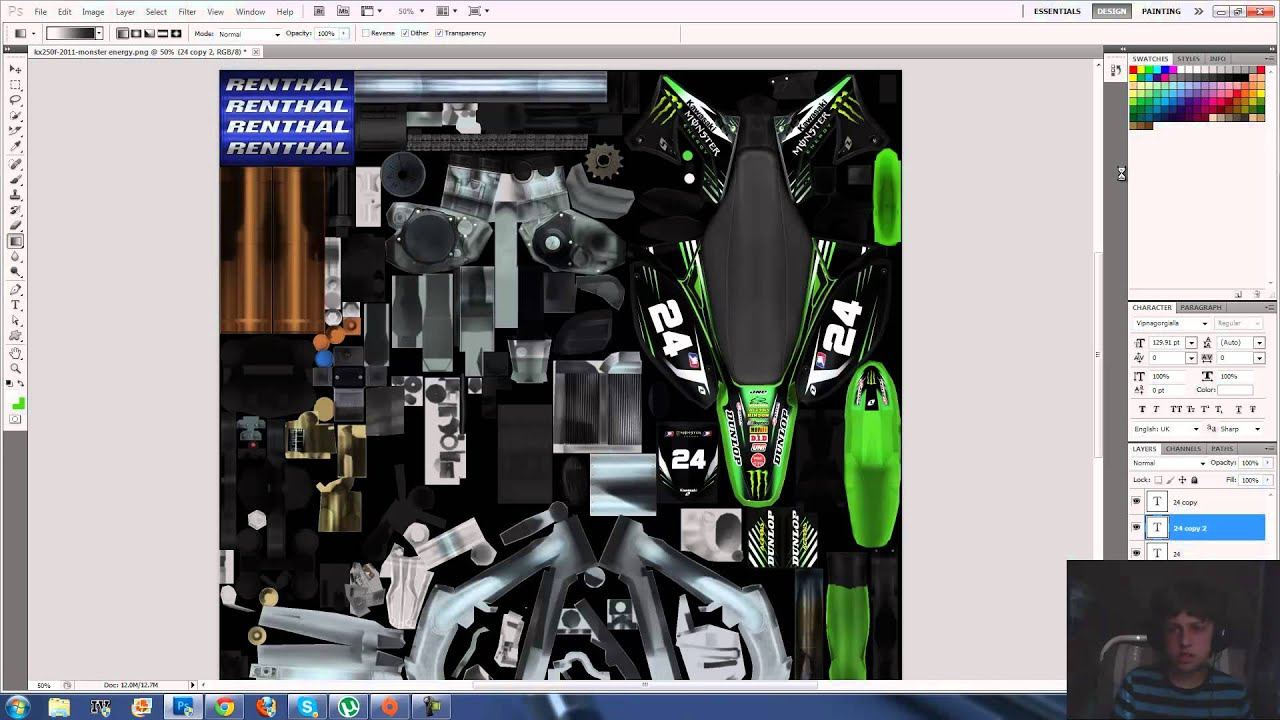 mx simulator template work in photoshop youtube