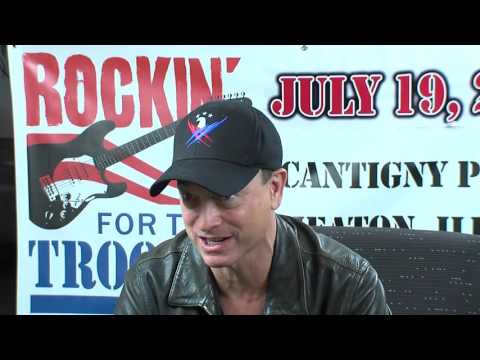 Gary Sinise Interview Rockin for the troops