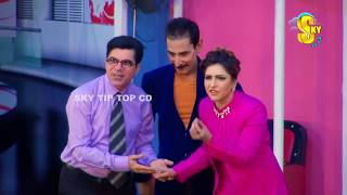 Iftikhar Thakur With Mahnoor and Tariq Teddy Stage Drama Mr  Gaama Full Comedy Clip 2019