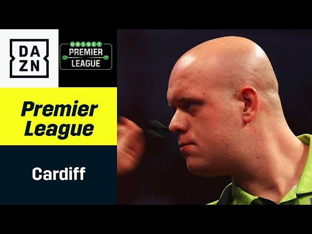 Gigantenduell in Cardiff: Michael van Gerwen trifft auf Rob Cross| Premier League of Darts | DAZN