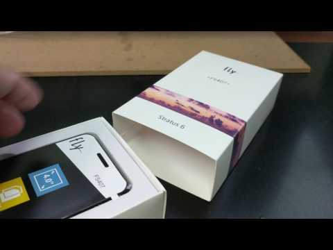 FLY STRATUS 6 FS407 DUAL SIM Unboxing Video – In Stock At Www.welectronics.com