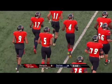 Garland ISD: Sachse vs Mesquite Football