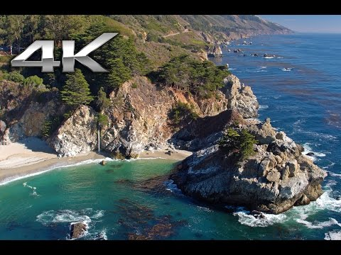 TIMELESS: Big Sur 4K Aerial Flight - California Coast | Natu