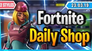 Fortnite Daily Shop *2 STYLES* SKULLY & MALICE (23 März 2019)