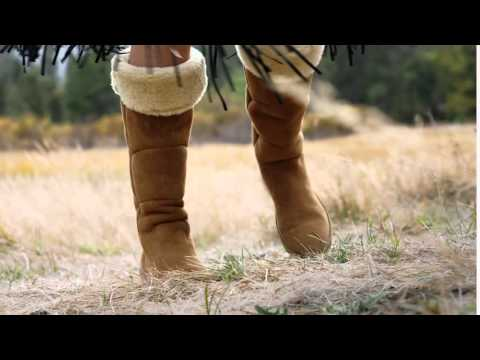 9b5250d1138 UGG® Australia Women's Samantha Fashion Boots - YouTube