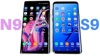 Galaxy Note 9 vs Galaxy S9 Plus Speed Test!