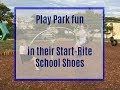 Testing our Start-Rite School Shoes at the Play Park