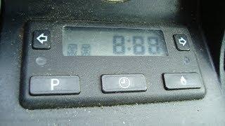 wEBASTO Дополнительная независимая система отопления автомобиля Mercedes W210