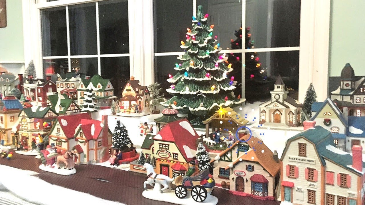 Christmas Village Display.Christmas Village Lemax Display 2017 Decorate With Me Cleancutcouponing