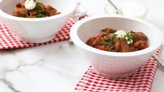 Slow-Cooker Beef and Tomato Stew- Martha Stewart