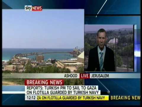 Turkey Navy Joins Gaza Flotilla with Prime Minister