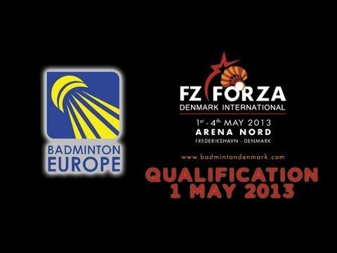 QR - MD - M.Kany/S.Olesen vs D.Hedegaard/J.Moller-Nielsen - 2013 FZ Forza Denmark International