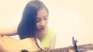 Thả vào mưa ( Trung Quân Idol) cover guitar by Thạch Thảo