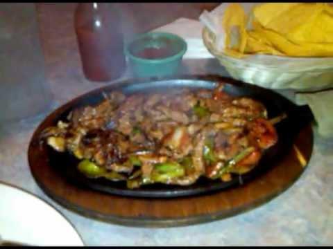 Sizzling Steak Fajitas - El Sombrero Mexican Restaurant Clinton Ms.