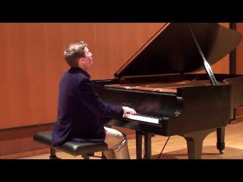 Braeden Duncan Plays Beethoven Sonata Op. 28 4th Movement