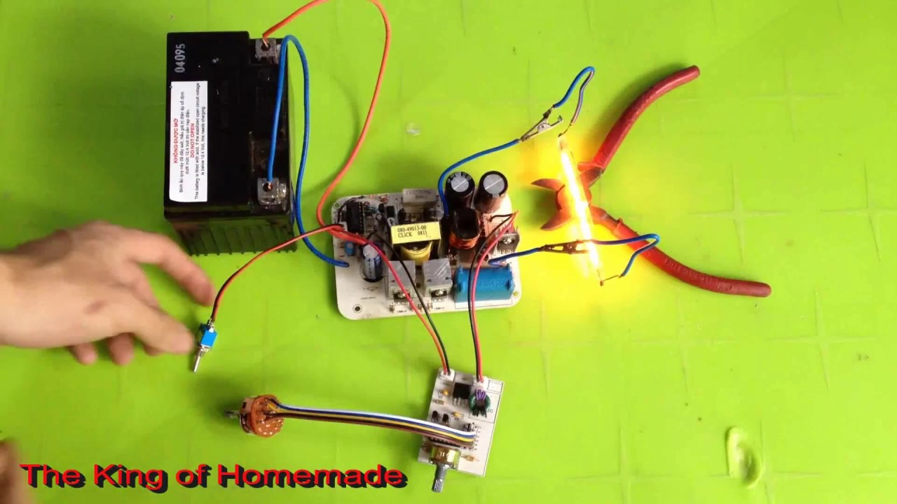 Homemade Inverter 12v 220v    Fish Shocker Electric