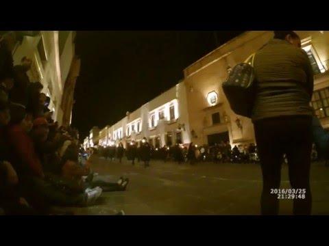 Procesión del Silencio 2016 en Zacatecas, Zacatecas