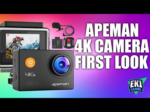 Apeman A79 - 4K Action Camera Unboxing (2020)