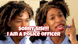Being at a South African Police Station - Lasizwe Dambuza