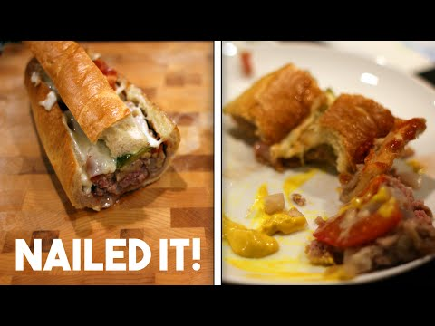 Baguette Burger | Nailed It!