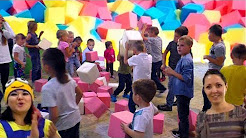 Children's party! SHOW foam cubes and Minion Clown Vitaminka! The fitness Studio MIXfit in Balashov
