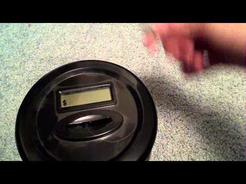 Coin Counting Jar Review