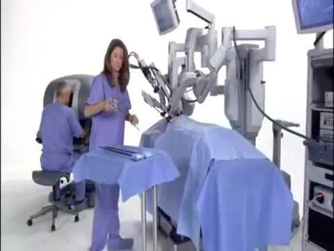 Robotic Surgery Demonstration Using Da Vinci Surgical System