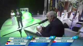 Sorteo copa america Argentina 2011 [FOX]
